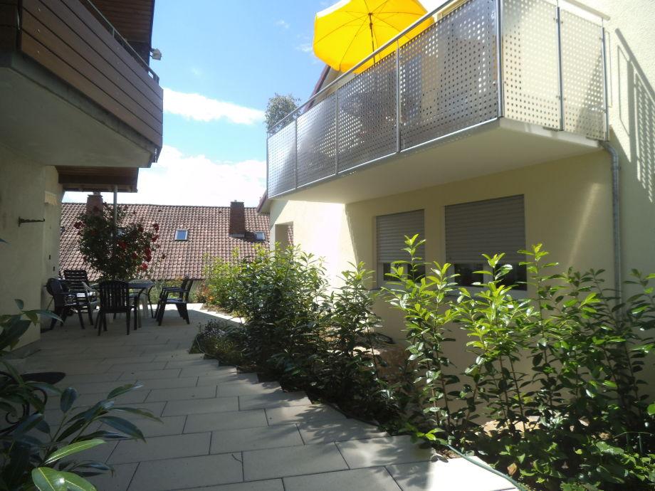Balkon-Morgensonne