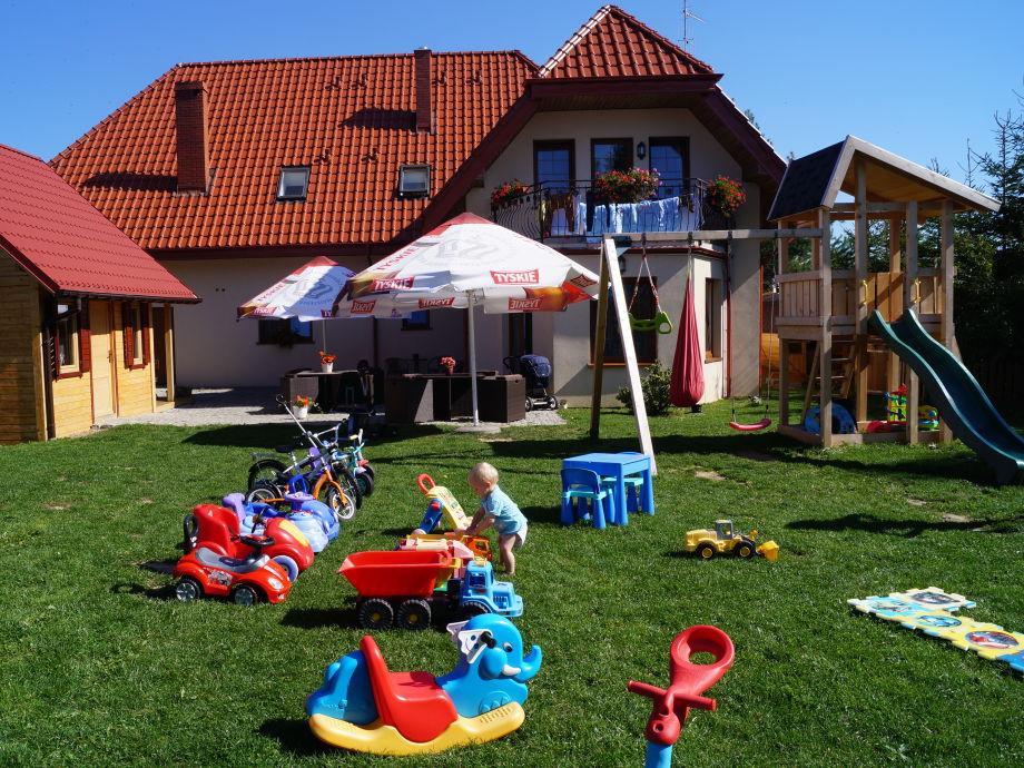 Außenaufnahme Ferienzimmer in der Villa Amber