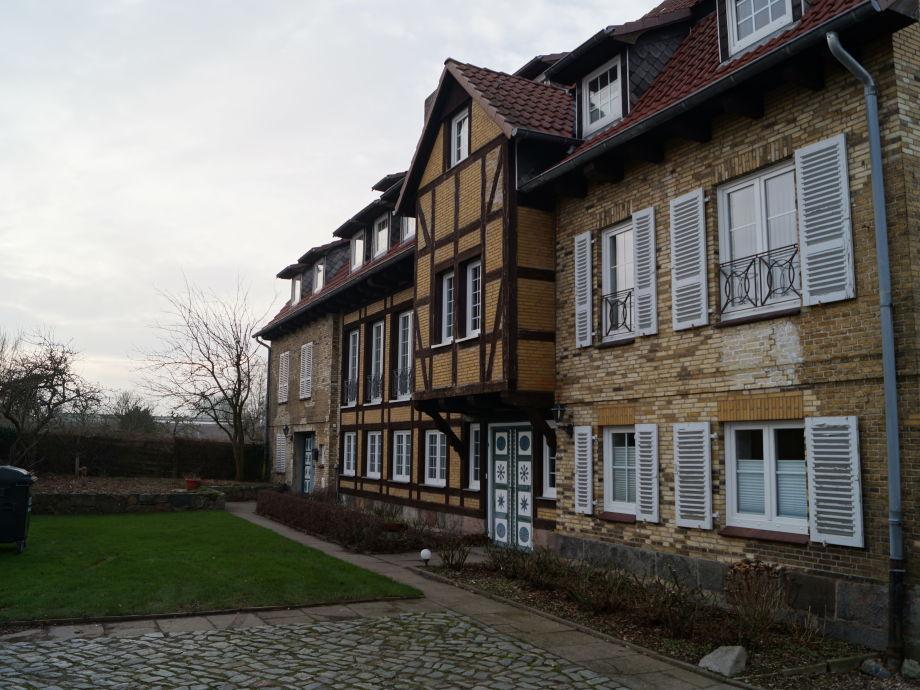 Mühlenhaus-Arnis mit Eingangsbereich