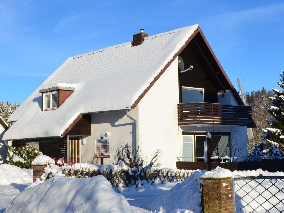 Ihr Ferienhaus im Winter