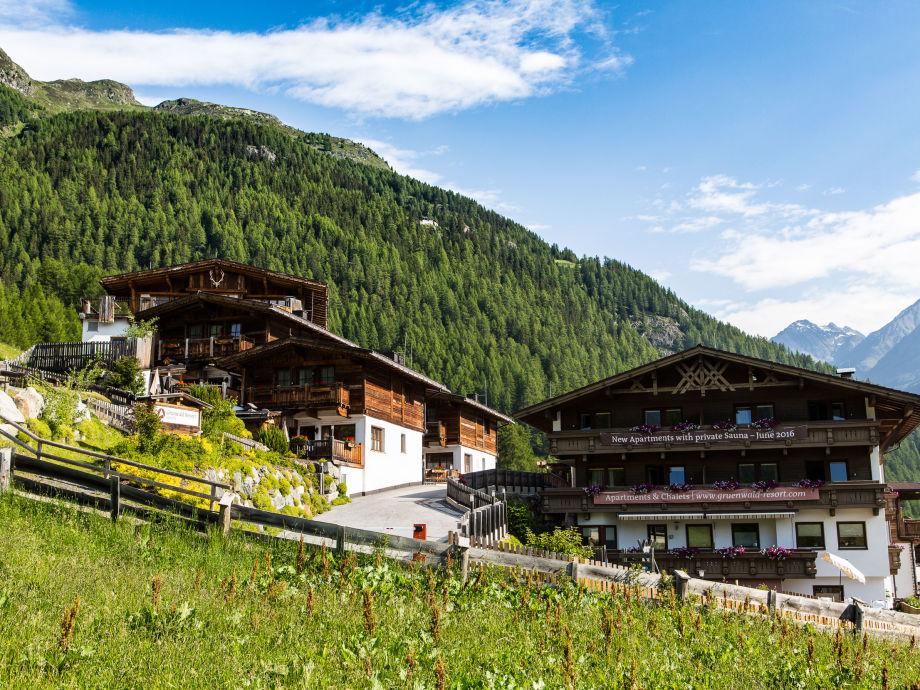 Summer view of Grünwald Resort