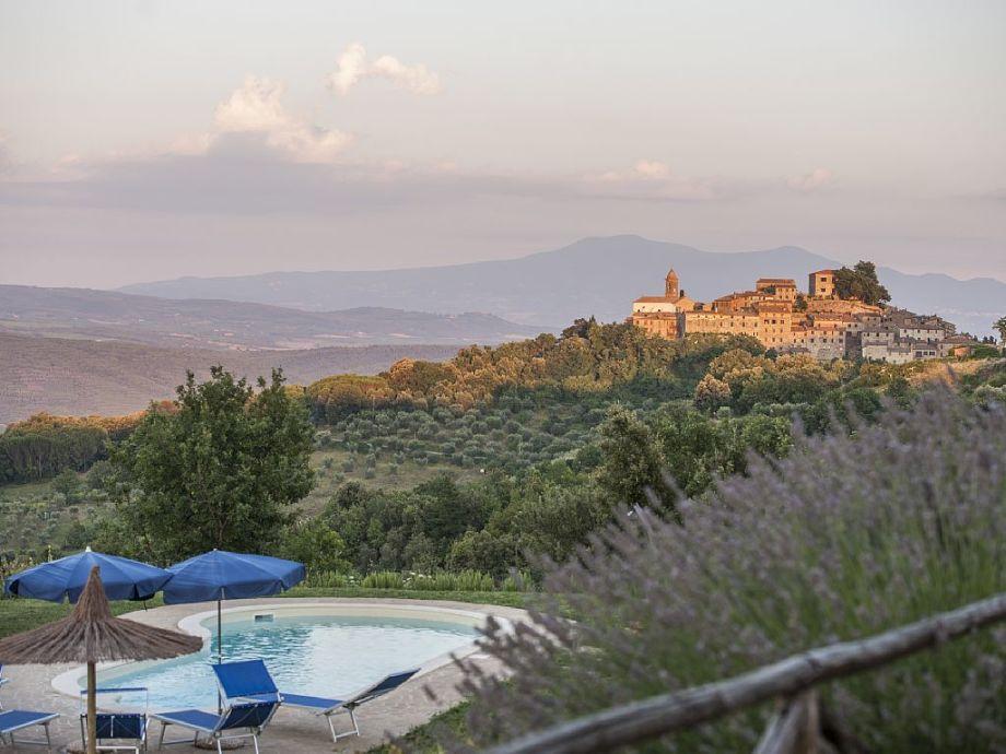 Terrasse mit herrlichem Panoramablick