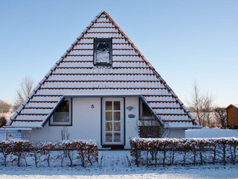 Haus Carolin im Winter