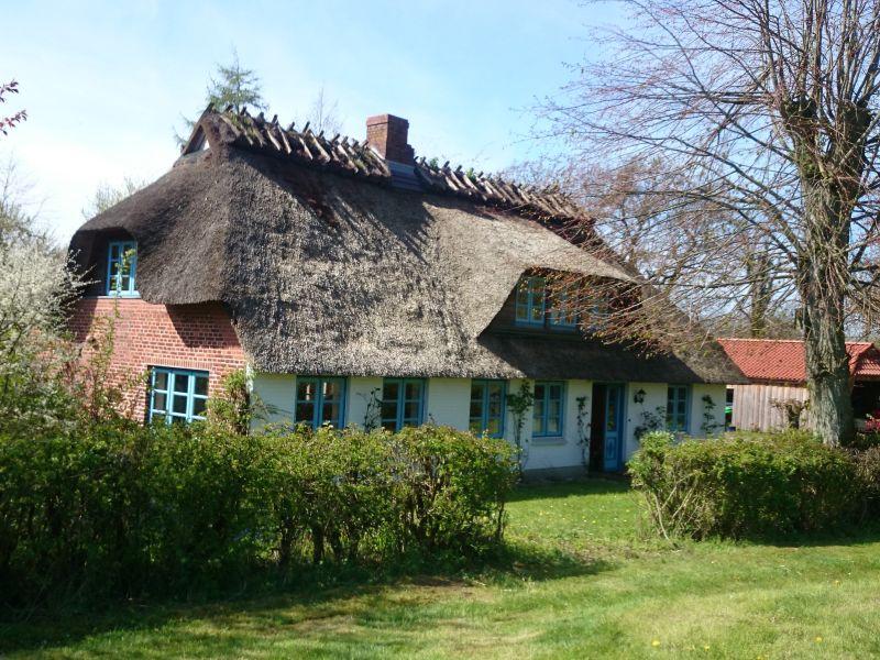 Landhaus Reetdachkleinod Ohrfeldhaff