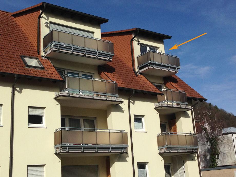 Gebäudeansicht Ost-West