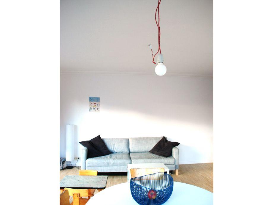 Das Wohnzimmer mit schöner Sitzecke