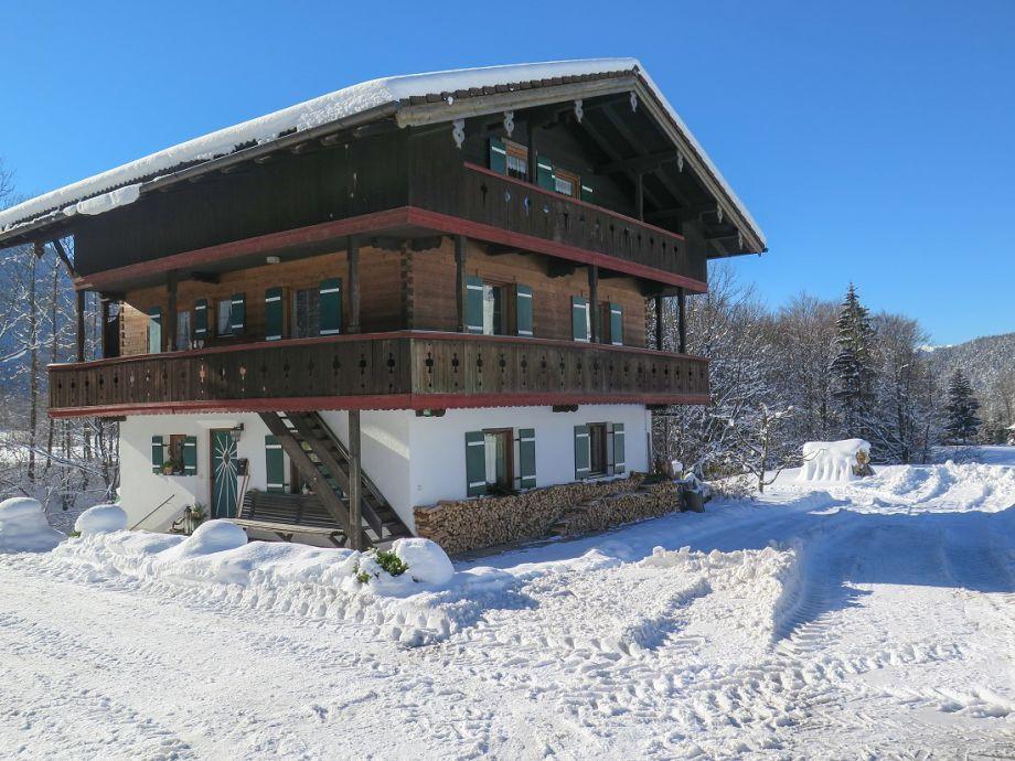 Winterbild Ferienwohnung