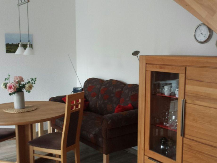 gemütliche Sitzecke mit Friesencouch