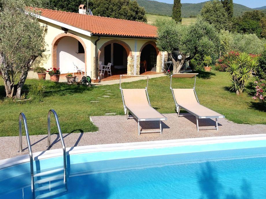 Idyllische Villa mit großem Pool