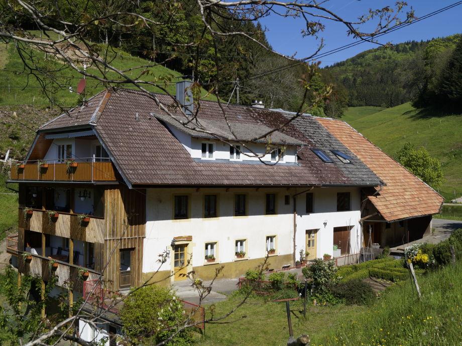 Unser Haus, die Ferienwohnung befindet sich im EG