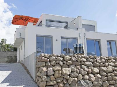 Villa Sonneninsel F 634 mit großem Balkon + Sauna + Kamin