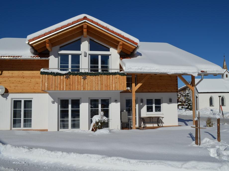 Winter im Ferienhaus Alexa