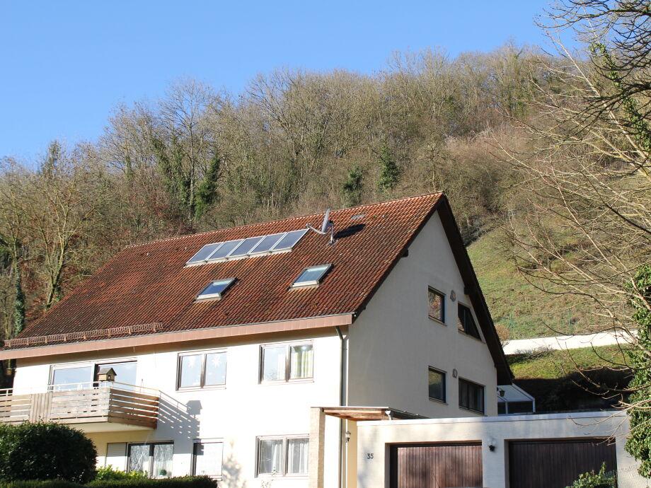 Haus Brümmer mit Garagen