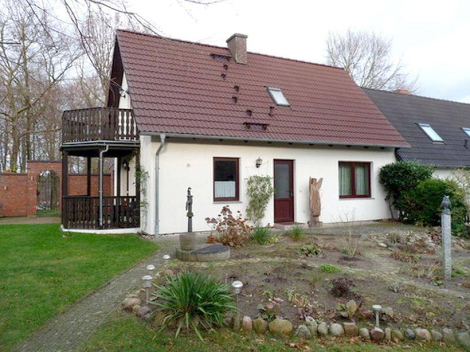 Das Haus mit den beiden Ferienwohnungen
