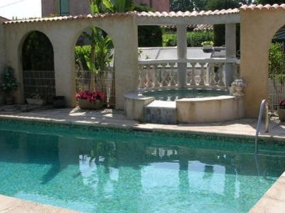 in Pool Villa in Pegomas