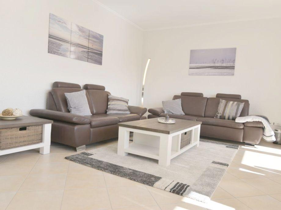 Wohnzimmer mit Seesicht und Sonne