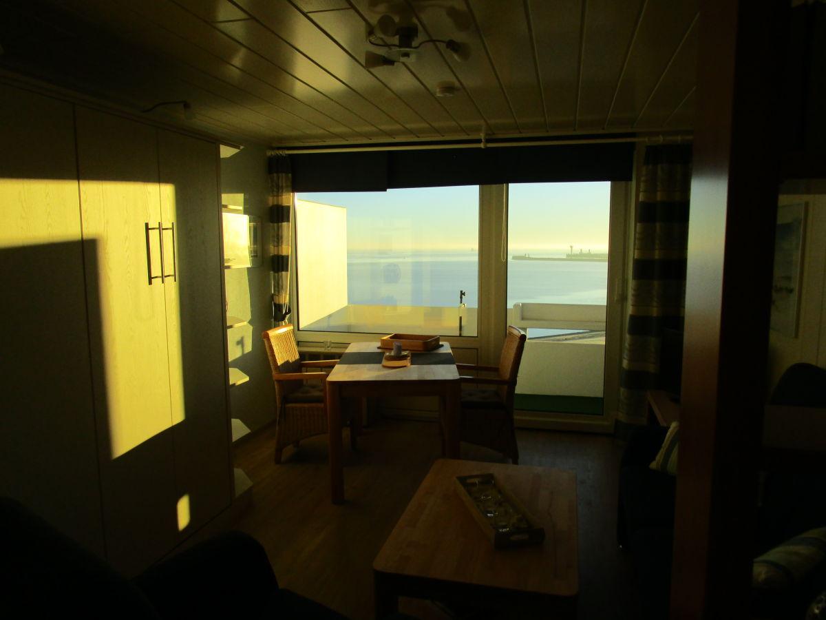 apartment elbblick 811 im haus nautic cuxhaven d se grimmersh rnbucht frau beate kossack. Black Bedroom Furniture Sets. Home Design Ideas