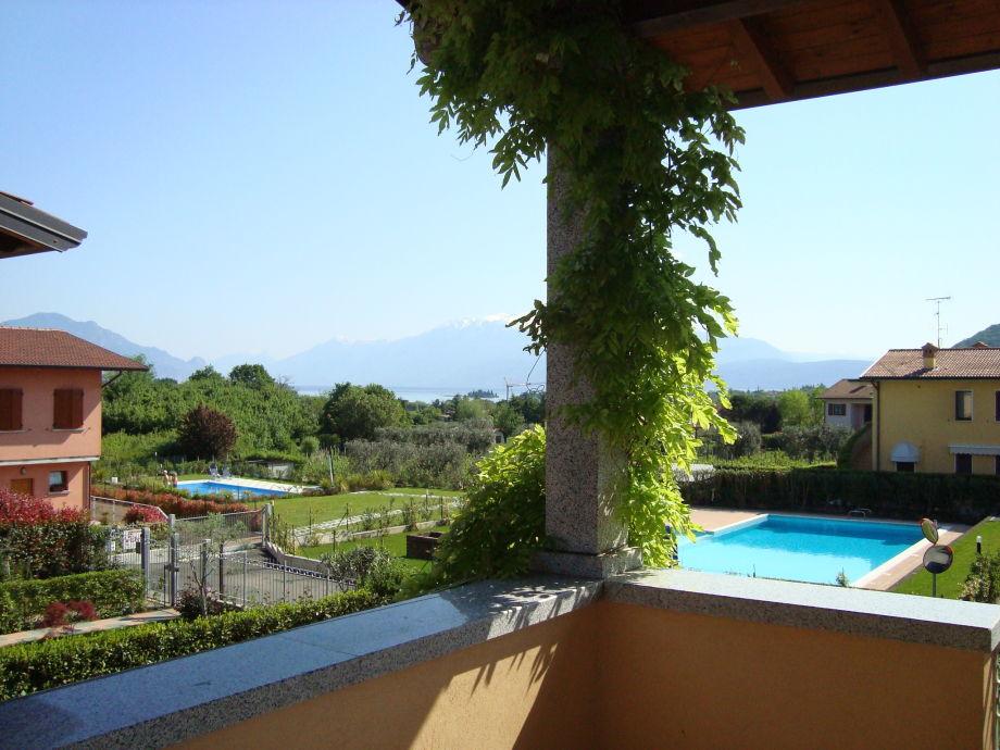 Seeblick Richtung Monte Baldo