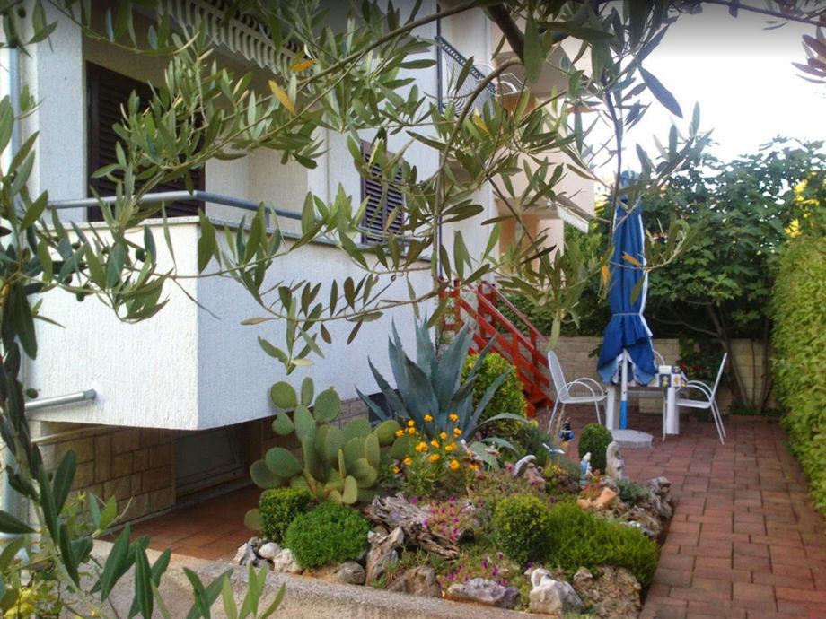 Terrassen im Garten