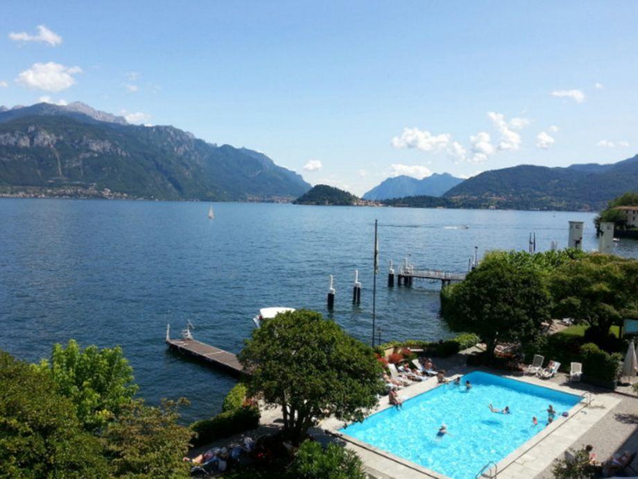 Pool von Grand Hotel Menaggio