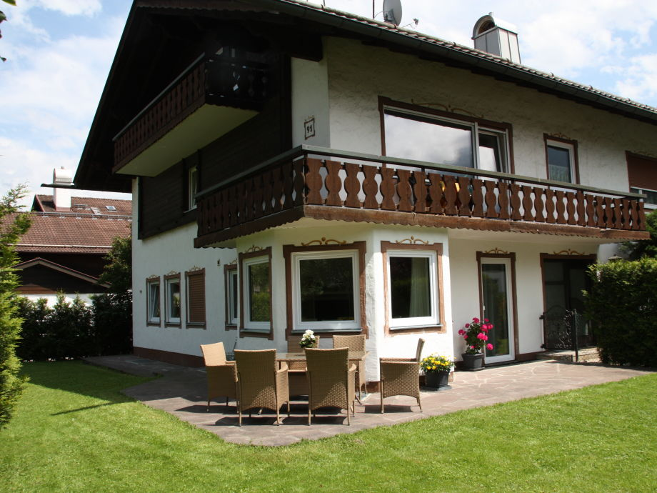 Ansicht Garten und Terrasse