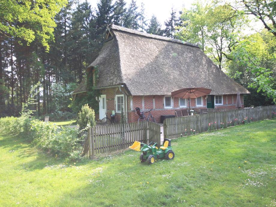 Unser Reetdachhaus