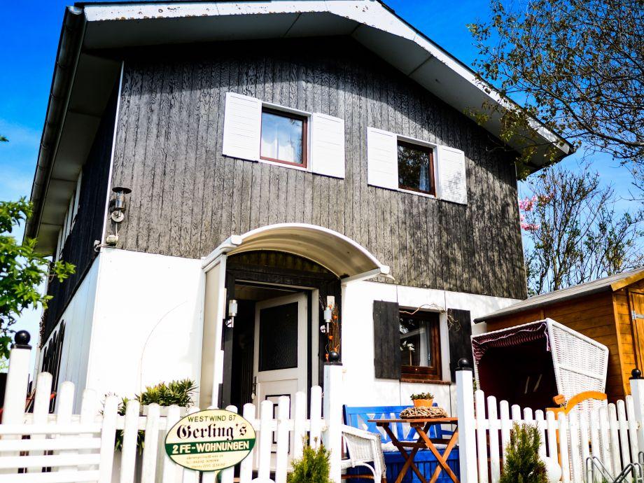 Ferienhaus-Eingang
