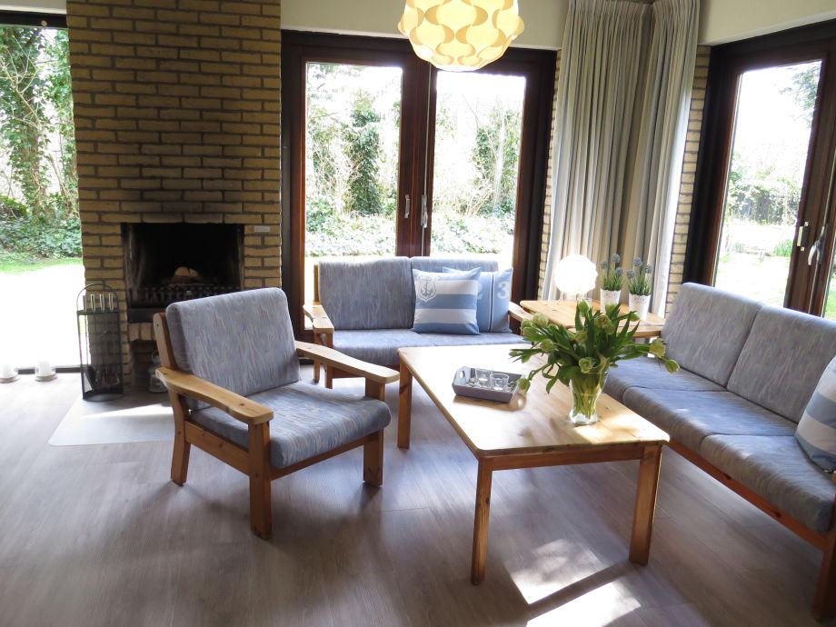 Ferienhaus mit großem Garten und offenem Kamin, Texel, De ...