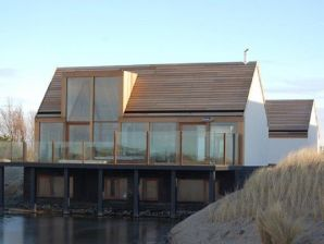 Villa Waddenlodge uitzicht op Texel