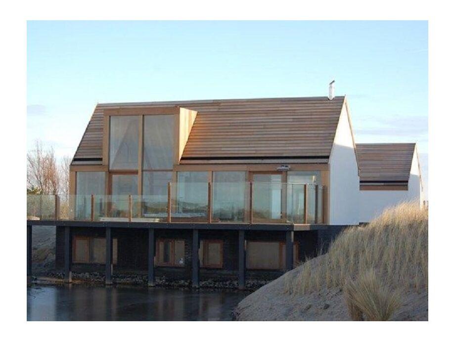 Die luxuriöse Villa Waddenlodge uitzicht op Texel