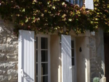 Ferienhaus Les Volets Blancs mit Dachterrasse