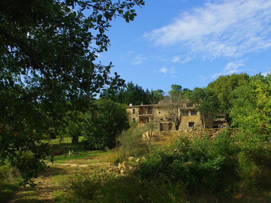 Das Anwesen von Südosten