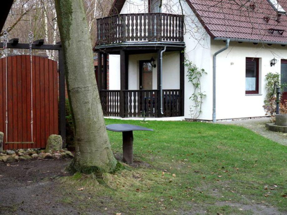 Das Haus mit den zwei Ferienwohnungen