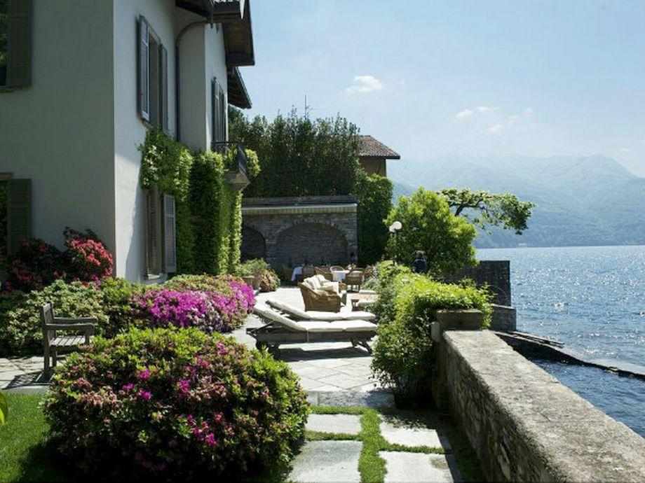 Die Villa von außen