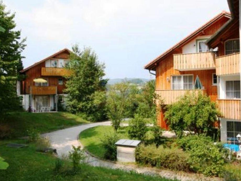 Die schönen Häuser im Feriendorf Schwarzholz