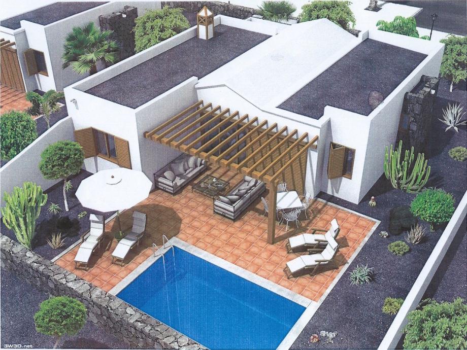 villa casa mirari kanarische inseln lanzarote herr. Black Bedroom Furniture Sets. Home Design Ideas