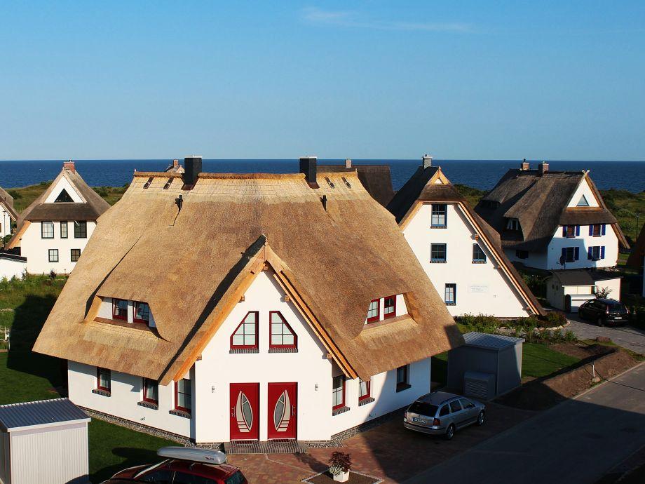 Hauseingangsbereich Seeperle und Seestern