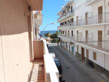Ferienwohnung P 6 mit Balkon und Meerblick