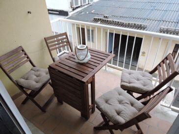Ferienwohnung P10 mit Balkon