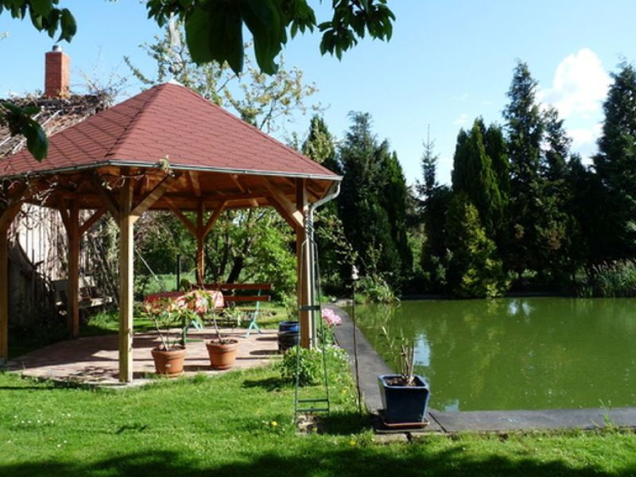 Pavillion im Garten