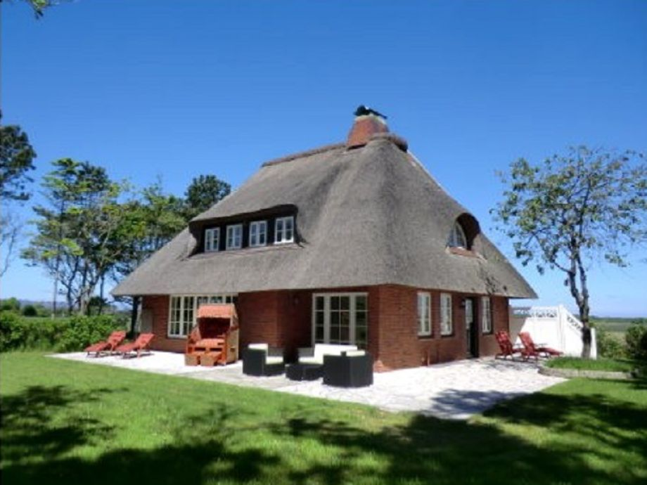 Reetgedecktes Landhaus in Witsum, Traumstraße 30