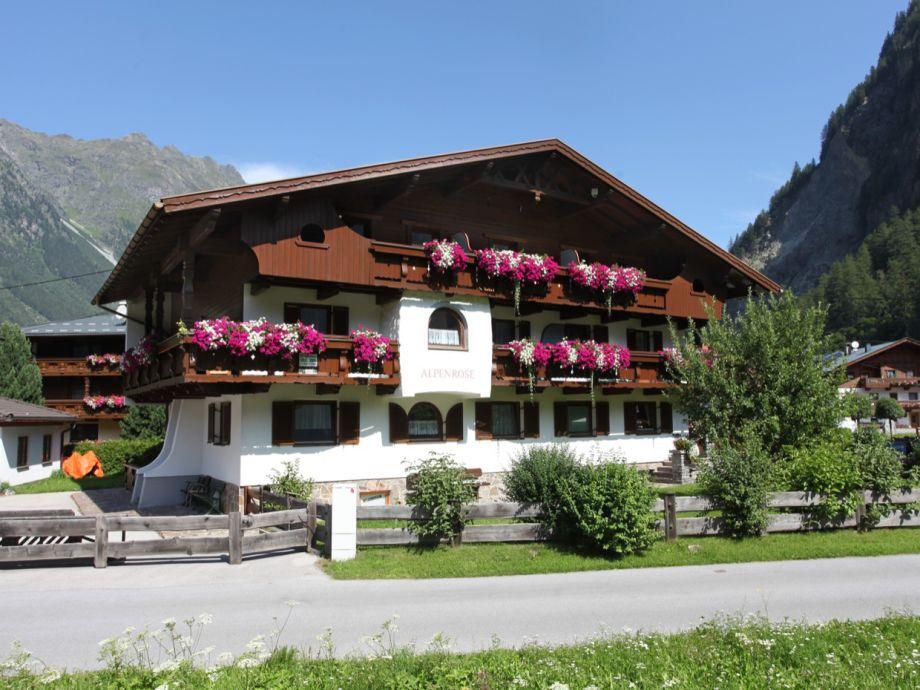 Außenaufnahme für 2-5 Personen - Haus Alpenrose