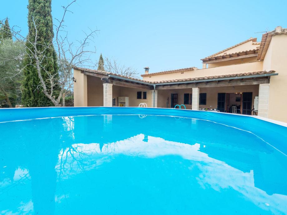 Villa Escaflor mit Gartenpool
