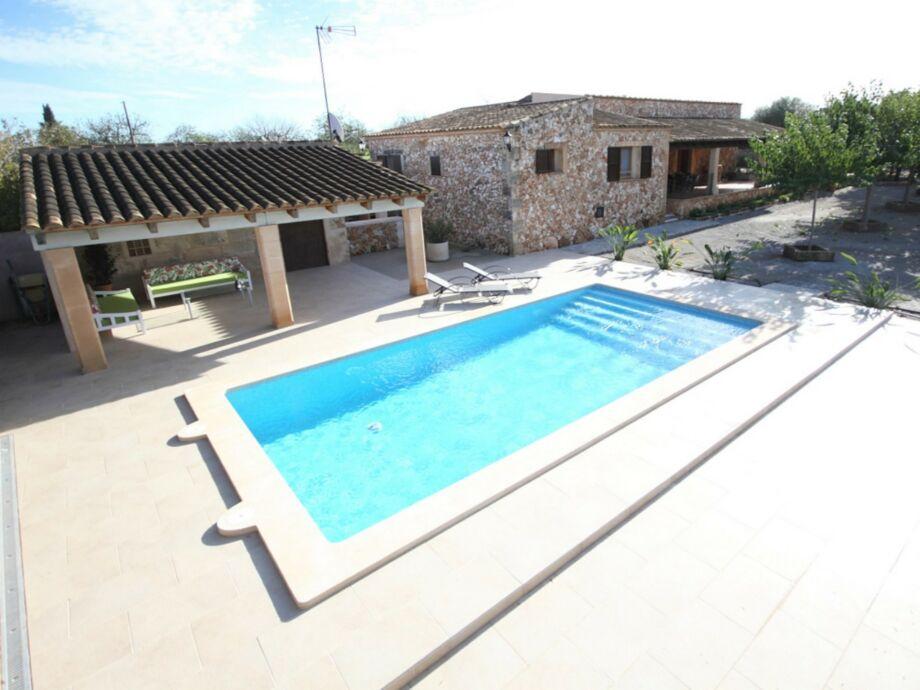 Villa Aubadallet mit Pool