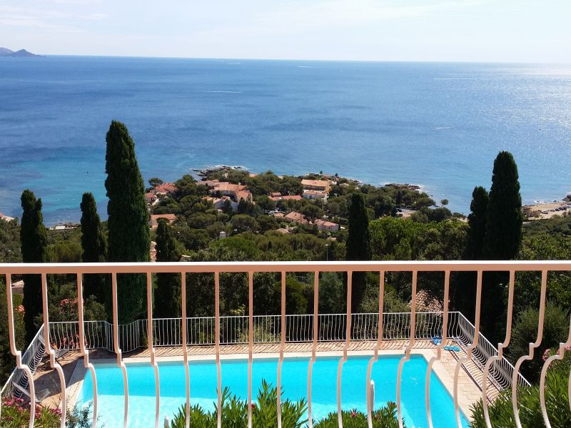 Villa Vent d'Est mit Meerblick