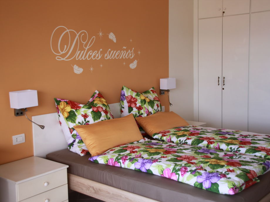 double bed with 2 very comfortable mattres
