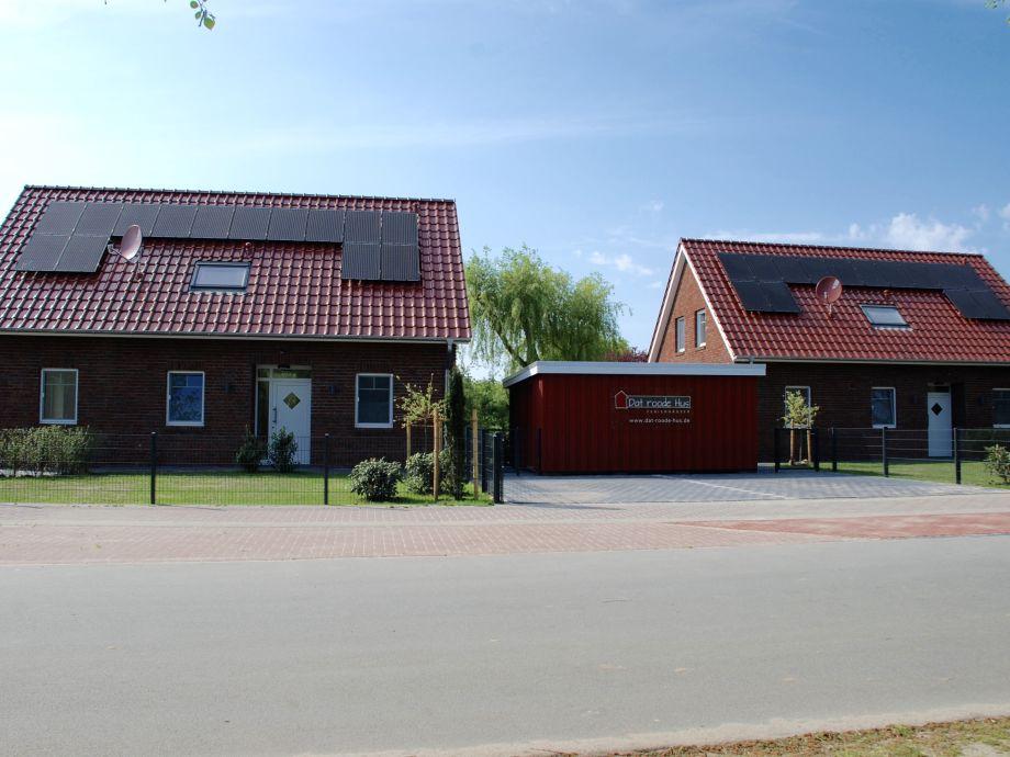 Dat Roode Hus , Ansicht von der Strasse