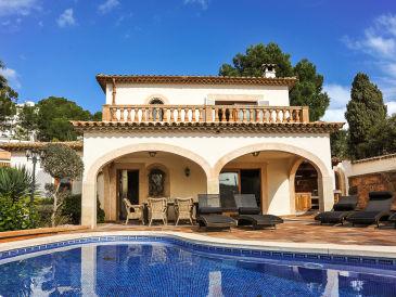 Ferienhaus mit Pool, Paguera ID 2644