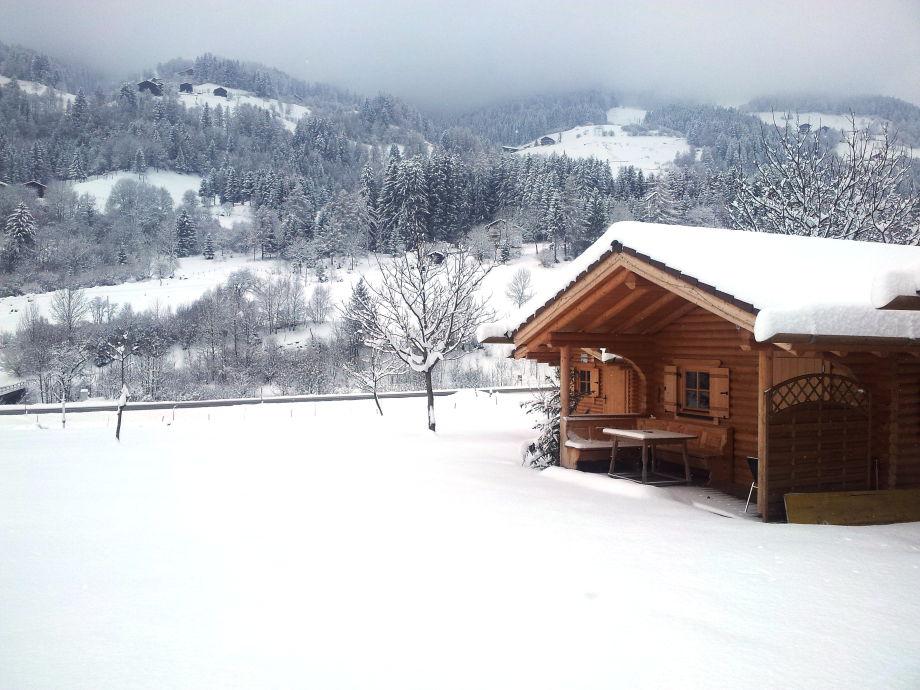 In mitten vieler Skigebiete