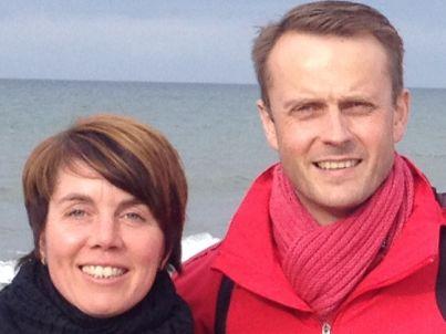 Ihr Gastgeber Frank und Maren Büchner